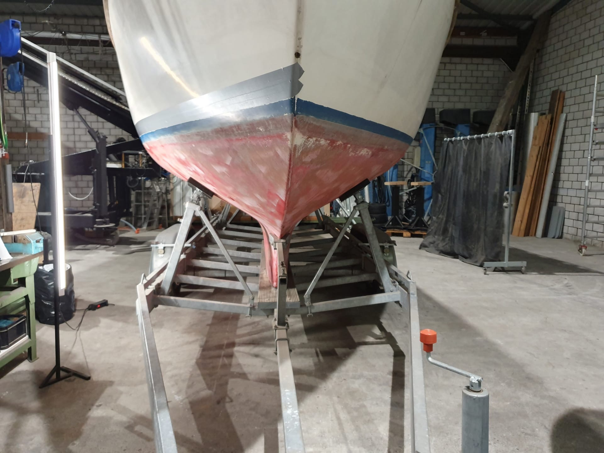 Boot Sandstrahlen