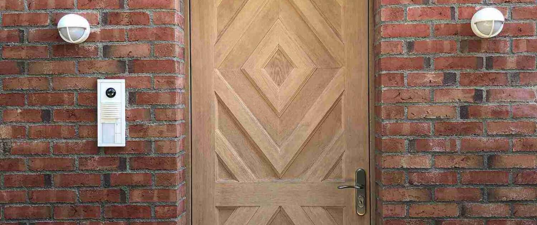Haustüre aus Holz